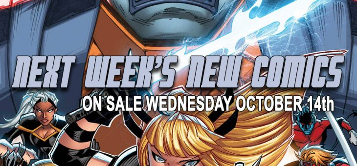 New comics Books October 14th 2020