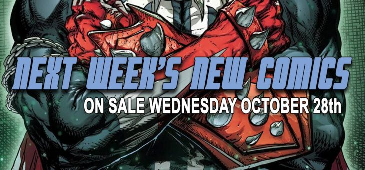 New comics Books October 28th 2020