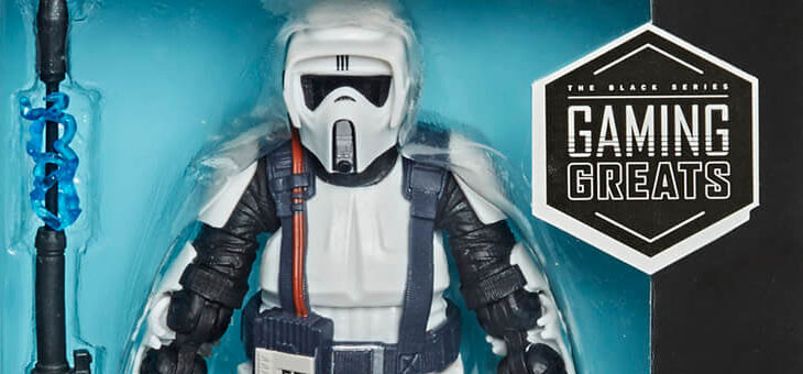 Star Wars Black Series Gaming Greats Shock Scout Trooper 6″ Scale Action Figure