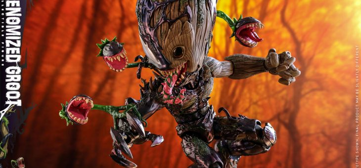 Marvel's Spider-Man: Maximum Venom Artist Collection Action Figure 1/6 Venomized Groot 25 cm