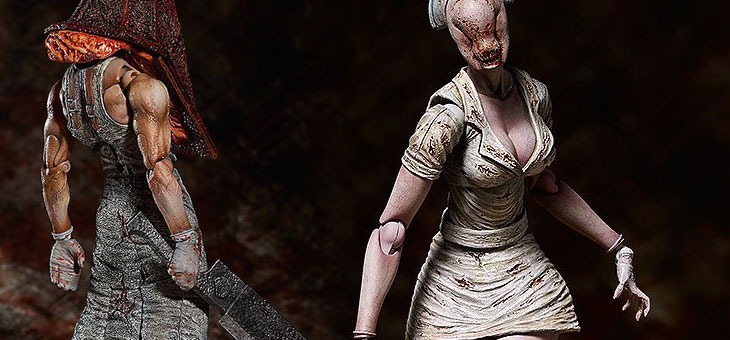 Silent Hill 2 Figma Action Figures: Red Pyramid Thing & Bubble Head Nurse