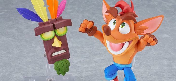 Crash Bandicoot Nendoroid Action Figure Crash Bandicoot 12 cm
