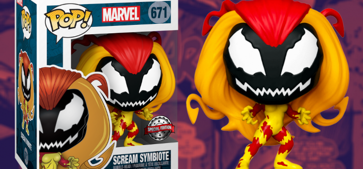 Funko: Marvel Scream Symbiote FPI Shared Exclusive