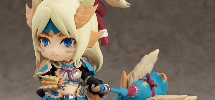 Monster Hunter World Iceborne Nendoroid Action Figure Hunter Female Zinogre Alpha Armor Ver. DX