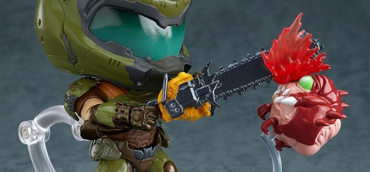 Doom Eternal Nendoroid Action Figure Doom Slayer 10 cm