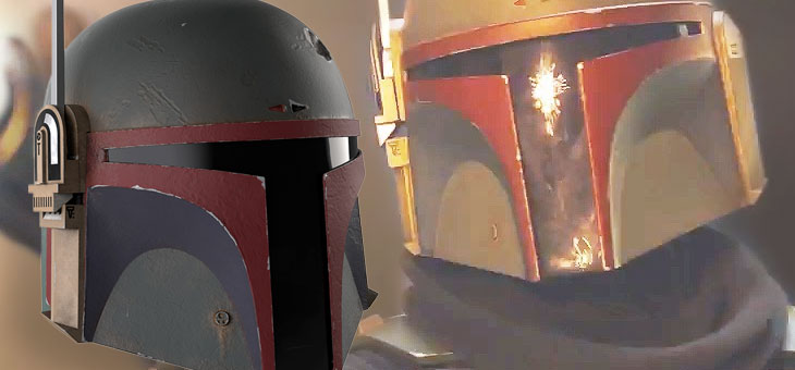Star Wars: The Mandalorian: Re-Armored Electronic Helmet: Boba Fett