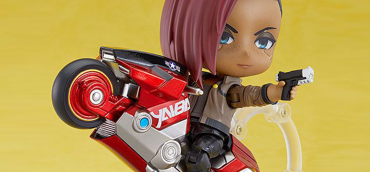 Cyberpunk 2077 Nendoroid Action Figure V: Female DX Ver. 10 cm