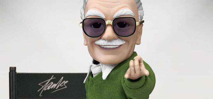Stan Lee Egg Attack Action Figure Stan Lee 16 cm