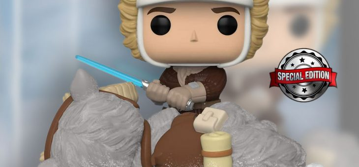 Funko Pop! Vinyl Deluxe Star Wars: Battle at Echo Base Series – Han Solo and Tauntaun FPI Exclusive