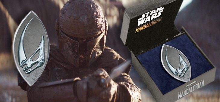 The Mandalorian MudHorn Magnetic Pin