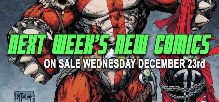 New comics Books December 23rd 2020