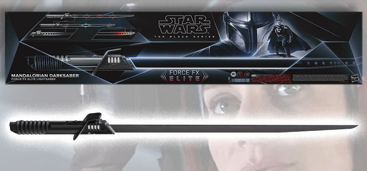 Star Wars: The Mandalorian: Black Series Force FX Lightsaber: Darksaber