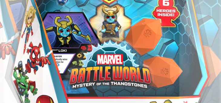 Funko: Marvel Battleworld: Mega Pack – Loki (Frost Giant)