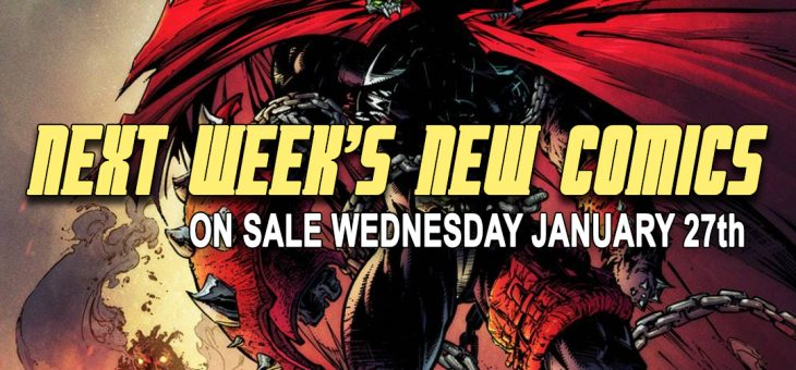 New comics Books January 27th 2021