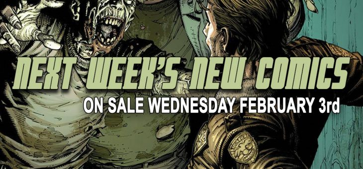 New comics Books February 3rd 2021