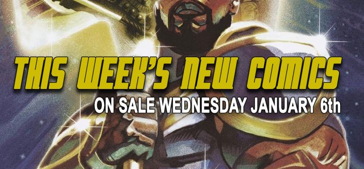 New comics Books January 6th 2021