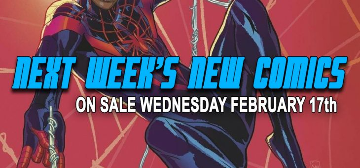 New comics Books February 17th 2021