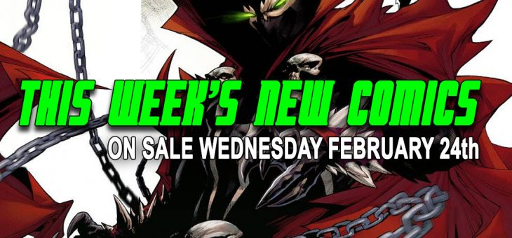 New comics Books February 24th 2021