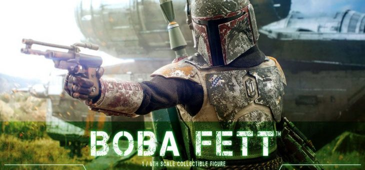 Star Wars The Mandalorian Action Figure 1/6 Boba Fett 30 cm