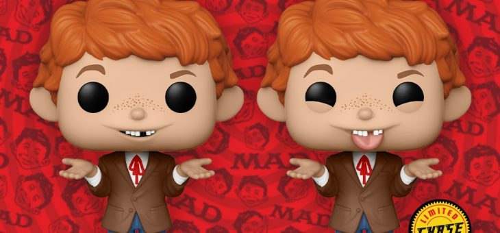 Funko: POP TV: MAD TV – Alfred E. Neuman with Chase Chance