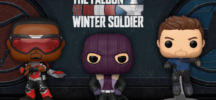 MARVEL'S THE FALCON AND THE WINTER SOLDIER FUNKO POP! VINYL GIVEAWAY