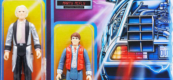 Super 7 Back To The Future ReAction Action Figures