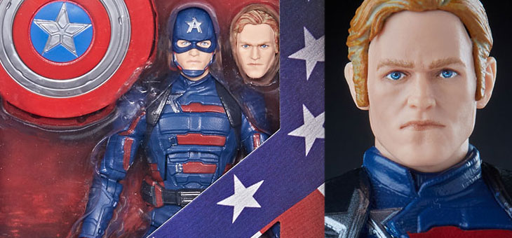 The Falcon and The Winter Soldier: Hasbro Marvel Legends Captain America: John F. Walker Action Figure