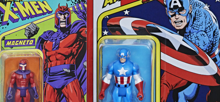 Marvel Legends 3.75″ RECOLLECT RETRO Action Figures