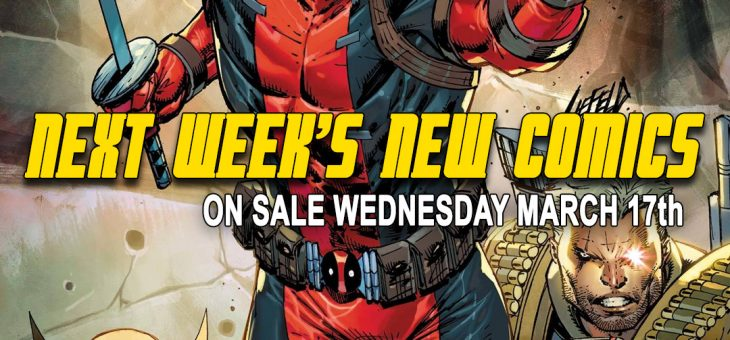 New comics Books March 17th 2021