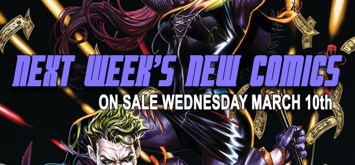 New comics Books March 10th 2021