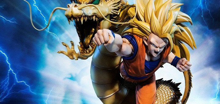 Dragon Ball Z FiguartsZERO PVC Statue (Extra Battle) Super Saiyan 3 Son Goku 21 cm