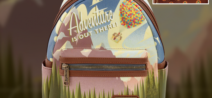 Loungefly: Exclusive Disney Pixar Up Adventure Scene Mini Backpack