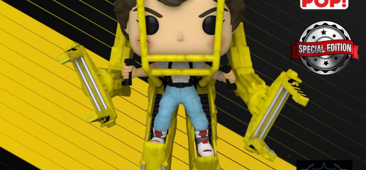 Funko: Aliens Jumbo Pop! Vinyl Figure: Power Loader with Ripley Exclusive!