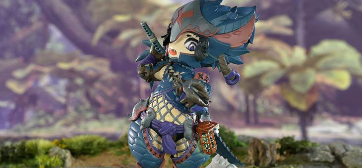 Monster Hunter PVC Statue Nargacuga Alpha+ 10 cm