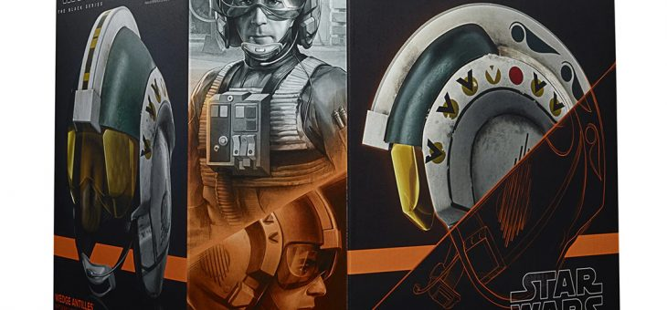 Hasbro Pulse: Star Wars The Black Series Wedge Antilles Battle Simulation Helmet