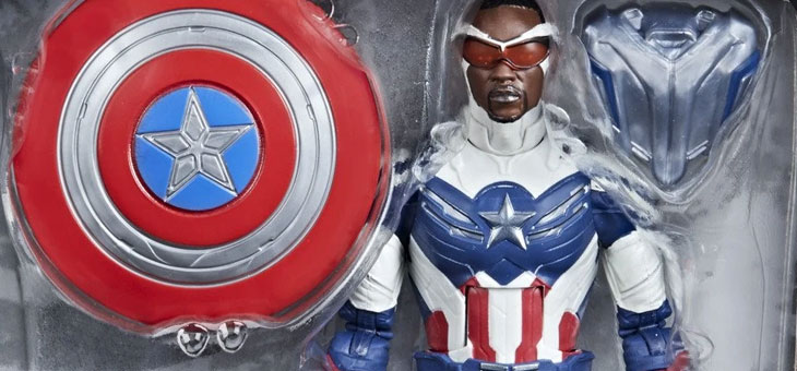 Hasbro Pulse: Marvel Legends Series The Falcon and the Winter Soldier Action Figures