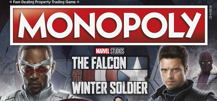 Hasbro Pulse: Monopoly: Marvel Studios The Falcon and the Winter Soldier Edition