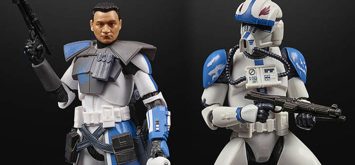 Hasbro Pulse: Star Wars The Black Series Lucasfilm 50th Anniversary The Clone Wars Figures