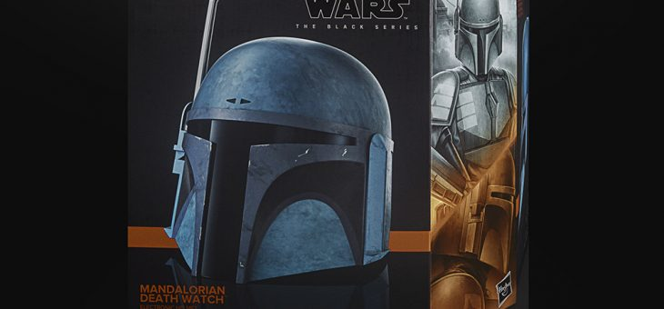 Star Wars: The Mandalorian: Black Series Electronic Helmet: Death Watch