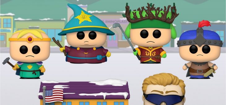 Funko: POP South Park: Stick of Truth & PC Princible with South Park Elementary
