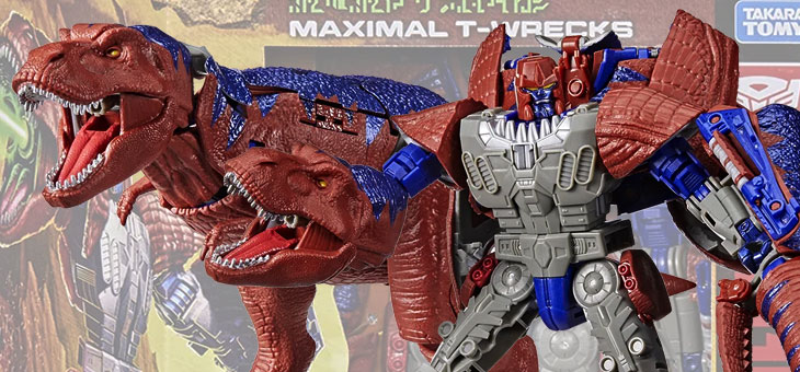 Transformers: Generations: War For Cybertron Action Figure: Kingdom Redcard Leader Maximal T Wrecks