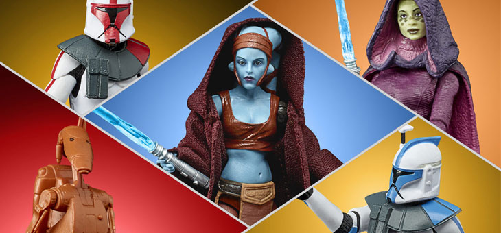 Star Wars: New Black Series and Vintage Collection Figures to Celebrate the Clone Wars 2D Micro-Series