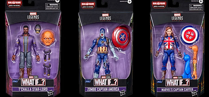 Marvel Legends Action Figures: What If? and more…