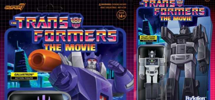 Transformers The Movie ReAction Figures