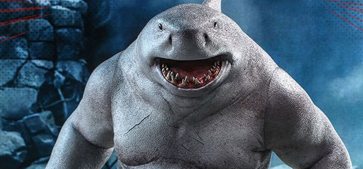 The Suicide Squad Movie Masterpiece Action Figure 1/6 King Shark 35 cm