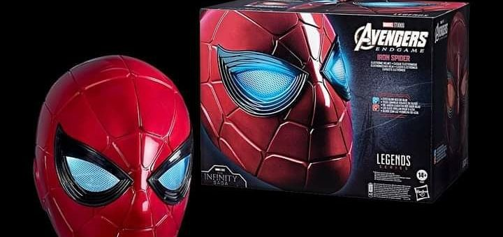 Pre-Order: The Marvel Legends Series IronSpider Electronic Helmet from Hasbro