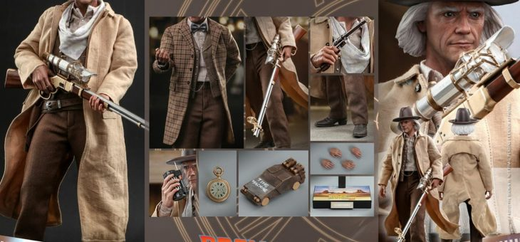 COMING SOON – Doc Brown Sixth Scale Figure Set by Hot Toys