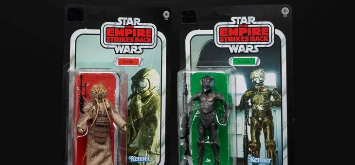 Star Wars Episode V Black Series Action Figure 2-Pack Bounty Hunters 40th Anniversary Edition