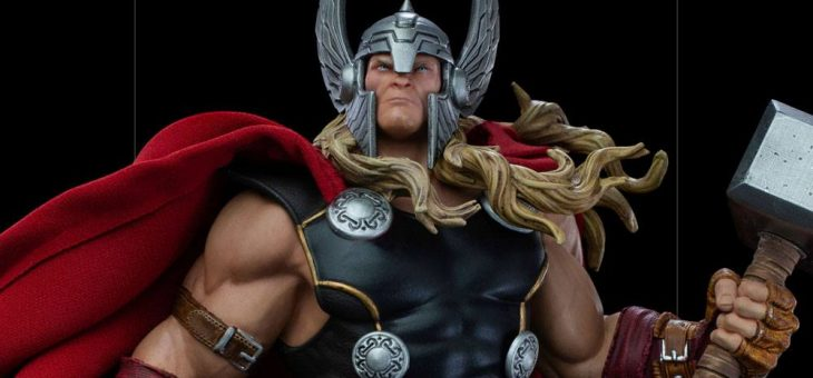 Pre-Order: Marvel Comics Deluxe Art Scale Statue 1/10 Thor Unleashed 28 cm