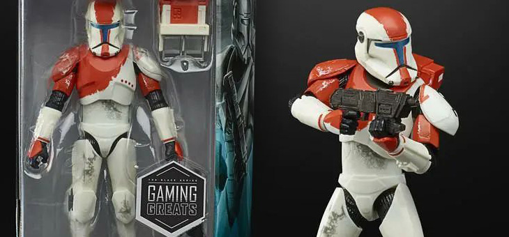 COMING SOON – Star Wars The Black Series Gaming Greats RC-1138 (Boss) from HasbroPulse